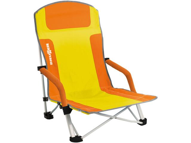 Brunner Calea Strandstoel.Brunner Bula Chair Orange Yellow